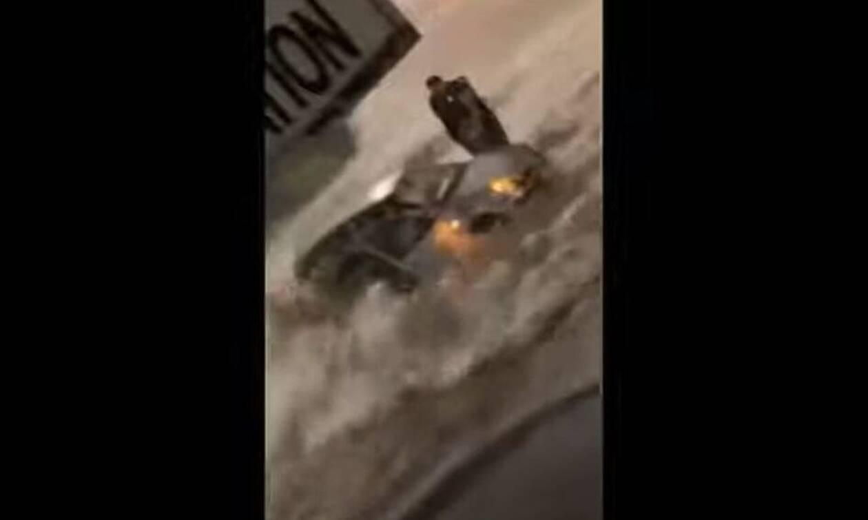 Γαλλία: «Κατακλυσμός» στο Μποβέ - Αγνοείται 17χρονος (vids)