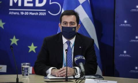 Αυστηρό μήνυμα Μηταράκη για το μεταναστευτικό: Η Ελλάδα δεν θα γίνει πύλη της ΕΕ για λαθροδιακινητές