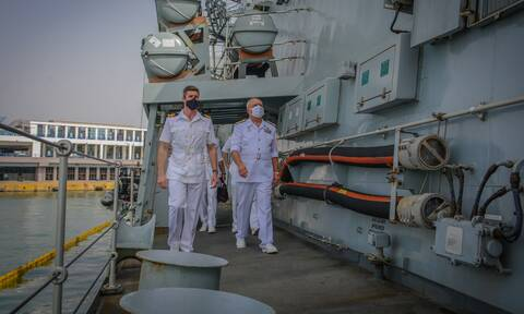 Πολεμικό Ναυτικό: «Πρέσινγκ» Βρετανών για τις φρεγάτες - Τι παρουσίασαν στον Αρχηγό ΓΕΝ
