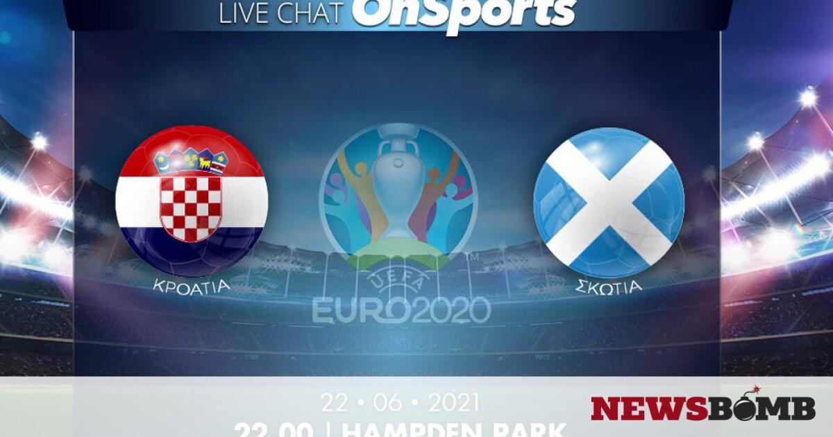 facebookKroatia Skwtia EURO 2020 live