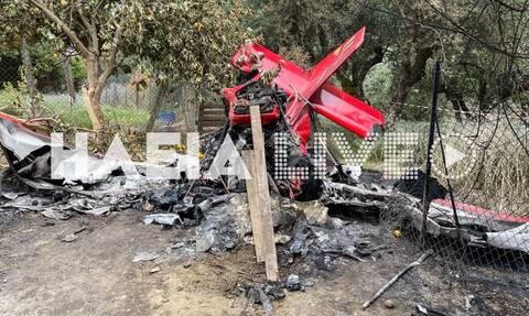 Πτώση αεροσκάφους - Ηλεία: Ολοκληρώθηκε η αυτοψία των εμπεριογνωμόνων - Σε 6 μήνες το πόρισμα