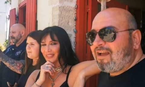 Πάολα και Ζωιδάκης έκαναν... χαμό σε χωριό της Κρήτης! (vid)