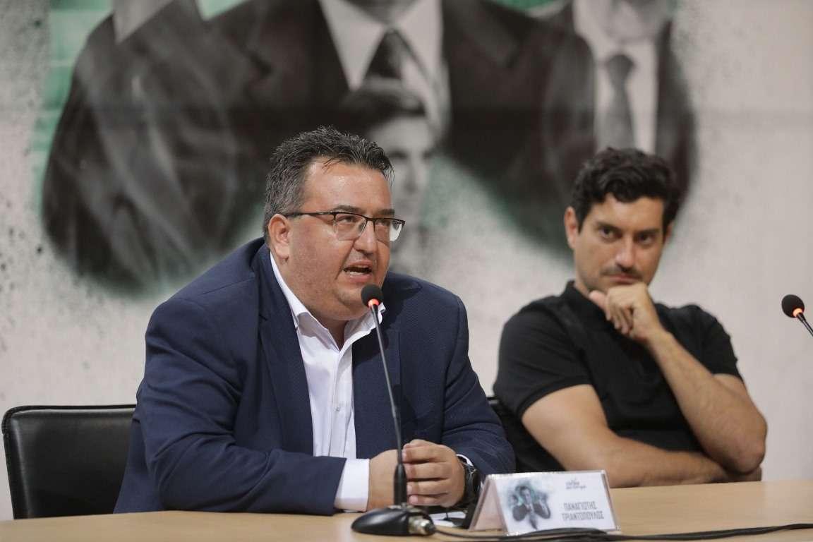 Παναγιώτης Τριαντόπουλος, πρόεδρος της ΚΑΕ Παναθηναϊκός ΟΠΑΠ