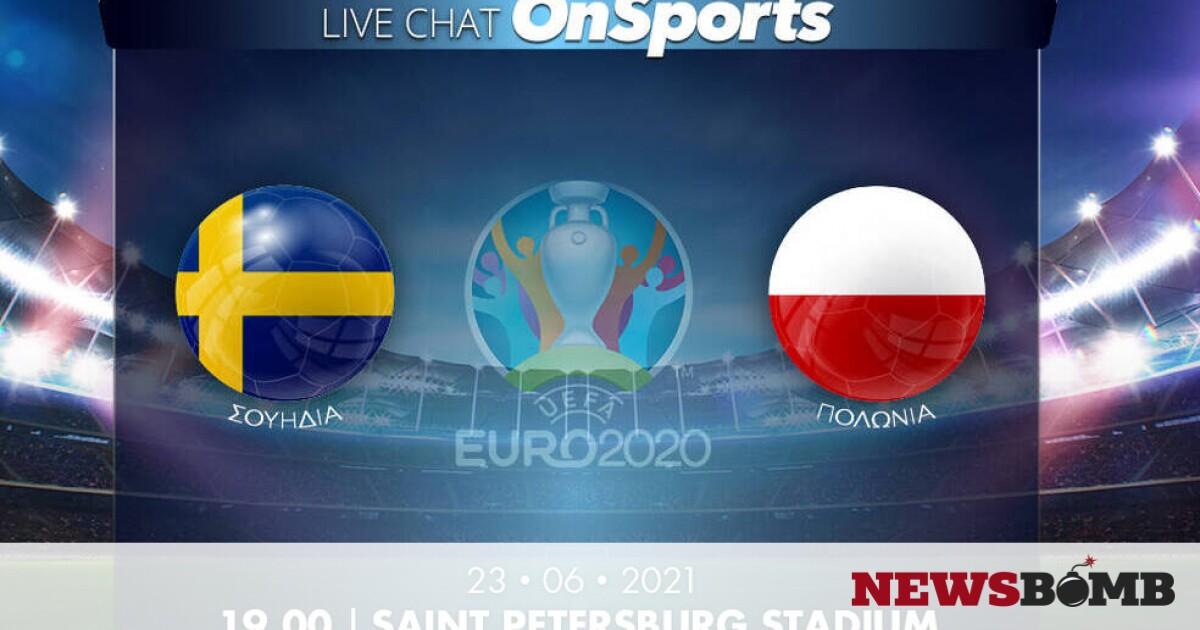 facebookSouidia Polonia EURO 2020 live