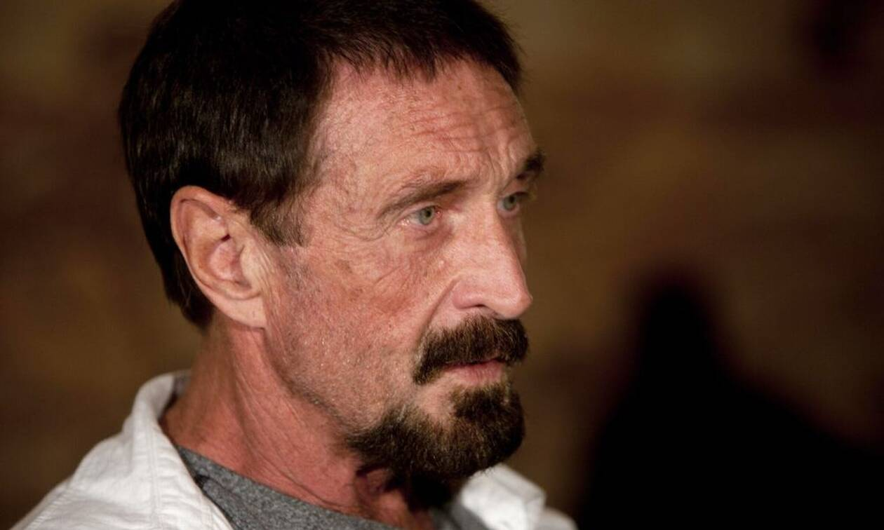 Πέθανε ο Τζον ΜακΑφι - Βρέθηκε νεκρός στο κέλι του