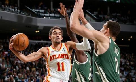 NBA: Στραβοπάτημα για τους Μπακς στους τελικούς της Ανατολής – Οι Χοκς το 1-0 με 116-113