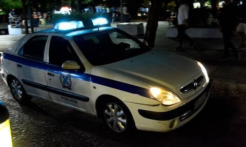 Περιπολικό αστυνομία βράδυ
