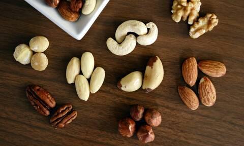 Ποιοι ξηροί καρποί δεν παχαίνουν και είναι κατάλληλοι για δίαιτα