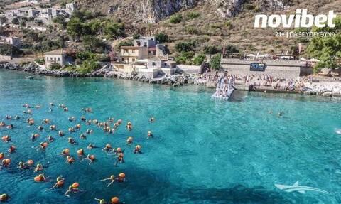 Η Novibet στην εκκίνηση του φετινού Oceanman Novibet Greece ως Gold Sponsor
