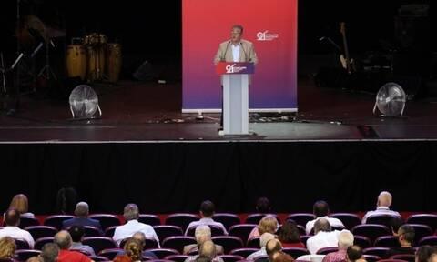 21ο Συνέδριο ΚΚΕ - Δ. Κουτσούμπας: «Με αισιοδοξία και ατσάλινη θέληση προχωράμε στον 21ο αιώνα»