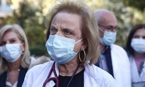 Παγώνη: «Η μετάλλαξη Δέλτα έχει μεγαλύτερη μεταδοτικότητα - Τη μάσκα θα την έχουμε στην τσέπη μας»