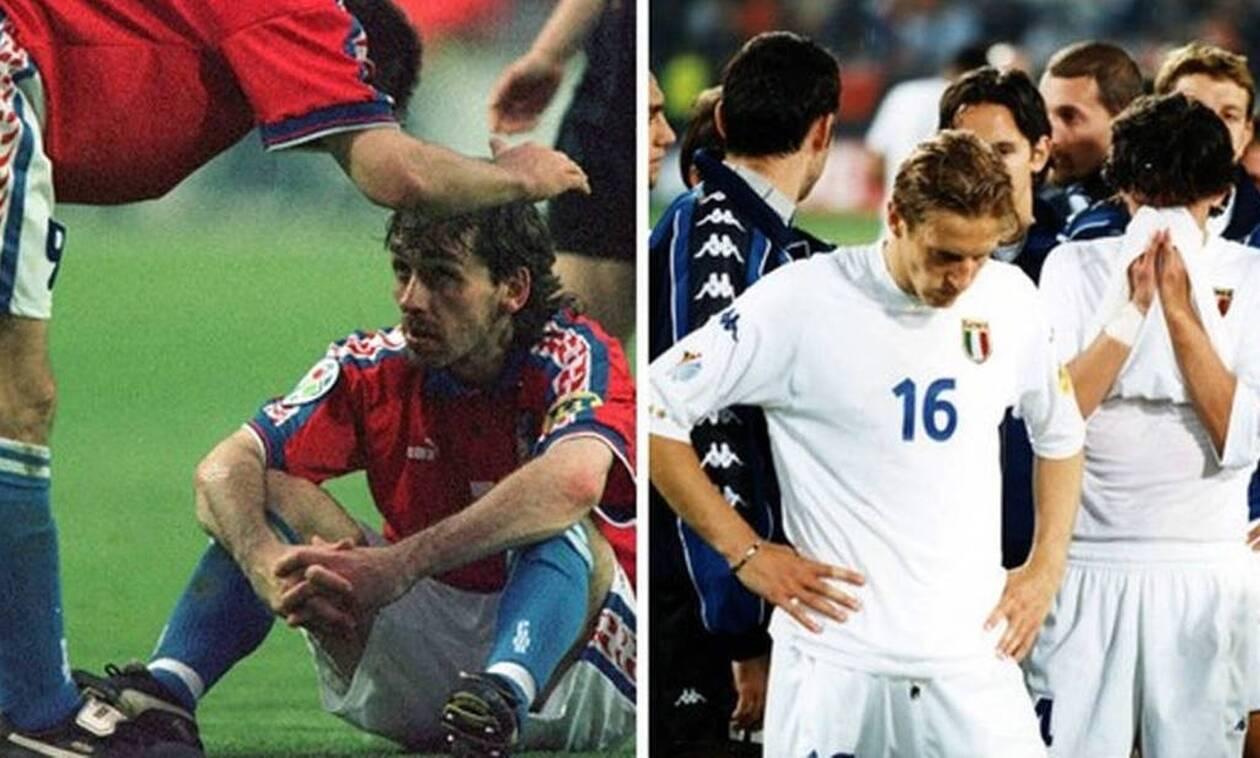 Οι ομαδάρες που δεν κέρδισαν: Τσεχία του 1996 ή Ιταλία του 2000;