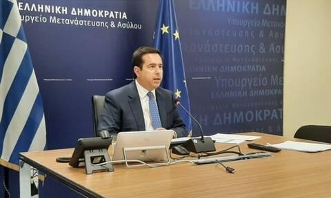 Νότης Μηταράκης: «Οι μεταναστευτικές ροές μειώθηκαν κατά 96%»