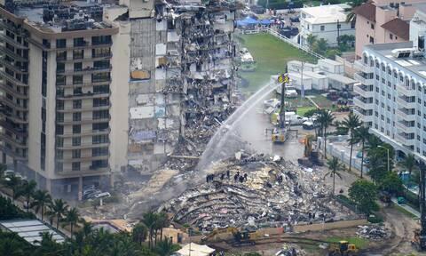 ΗΠΑ: Αγωνιούν οι οικογένειες των 159 αγνοουμένων από την κατάρρευση κτιρίου στο Μαϊάμι