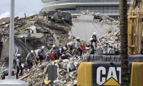 ΗΠΑ: Λιγοστεύουν οι ελπίδες για επιζώντες στο κτήριο που κατέρρευσε στη Φλόριντα