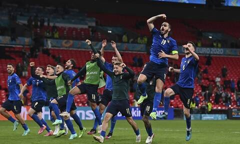 Euro 2020 – Αποτελέσματα: Ιστορικό ρεκόρ η Ιταλία, συνεχίζεται το παραμύθι της Δανίας