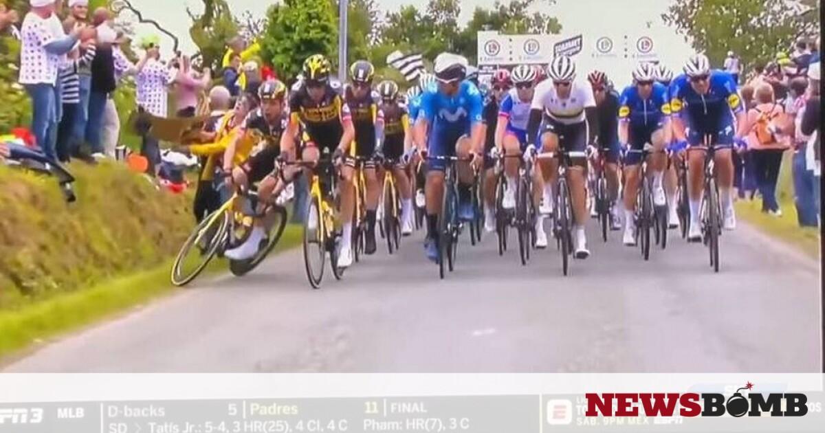 facebookTour de France 2021 Stage 1 incident. 0 43 screenshot