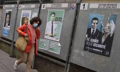 Οι Γάλλοι στις κάλπες για τον δεύτερο γύρο των περιφερειακών εκλογών