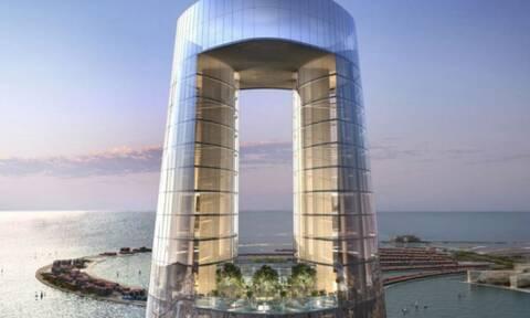 Αυτό είναι το ψηλότερο ξενοδοχείο στον κόσμο - Απίθανες εικόνες (photos)