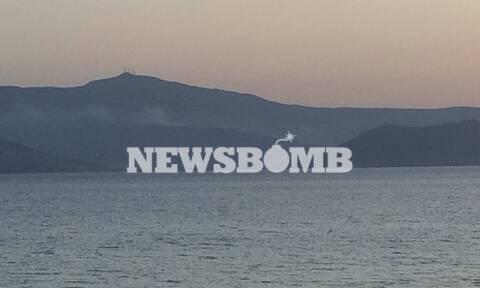 Ρεπορτάζ Newsbomb.gr: Η φωτιά στην Πάρο σκέπασε με καπνό και τη Νάξο – Σε ύφεση το μέτωπο