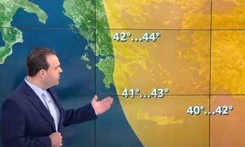 Καιρός: Προειδοποίηση Μαρουσάκη - Έρχονται δύσκολες ημέρες - Πού θα δείξει 45άρια ο υδράργυρος