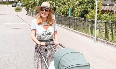 Μαρία Ηλιάκη: Η νέα φώτο με την κόρη της και τον σύντροφό της
