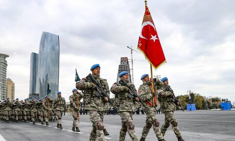 Μεγάλης κλίμακας κοινές στρατιωτικές ασκήσεις Τουρκίας και Αζερμπαϊτζάν