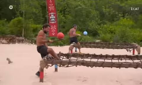 Survivor Spoiler 28/6: Αυτός κερδίζει τον αγώνα κατάταξης (pics+vid)