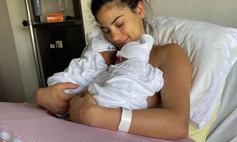Χριστίνα Μπόμπα: Το πρώτο στόρι της νέας μαμάς από το σπίτι με τα δίδυμα είναι αυτό που φαντάζεσαι
