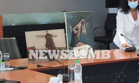 Κλοπή πίνακα του Πικάσο: Σε αυτό το σημείο βρέθηκε καλά κρυμμένος από τις Αρχές