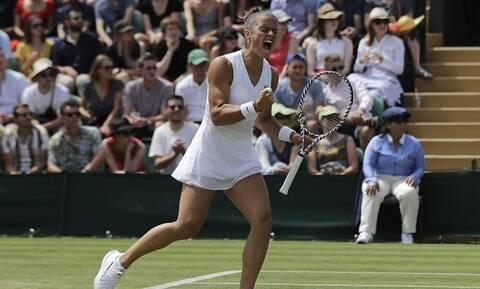 Μαρία Σάκκαρη: Επιβλήθηκε της Ολλανδής Αράντσα Ρους στον πρώτο γύρο του Wimbledon