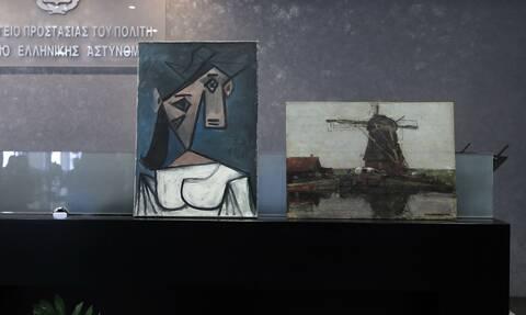 Εθνική Πινακοθήκη: Αυτός είναι ο 49χρονος που άρπαξε τους πίνακες του Πικάσο και του Μοντριάν