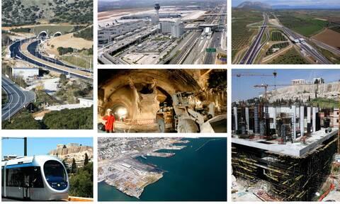 Τα έργα που άλλαξαν την Ελλάδα με ευρωπαϊκή χρηματοδότηση