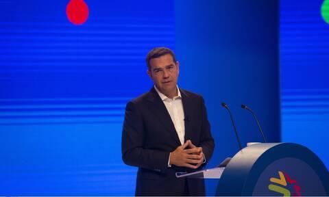 Τσίπρας στον ΣΕΒ: Χρειάζεται νέα οικονομική πολιτική για μείωση ανισοτήτων, περιβάλλον και ανάπτυξη