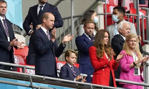 Euro 2020: Στις κερκίδες για το Αγγλία – Γερμανία ο πρίγκιπας Ουίλιαμ