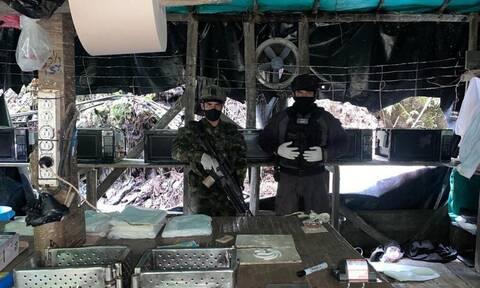 Κολομβία: Κατασχέθηκαν έξι τόνοι κοκαΐνης - Τον Στρατό Εθνικής Απελευθέρωσης «δείχνει» η κυβέρνηση
