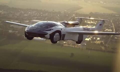 AirCar: Πτήση - ορόσημο για το ιπτάμενο αυτοκίνητο