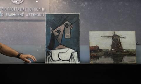 Κλοπή Πικάσο: Σε τι κατάσταση βρίσκονται τα έργα τέχνης - Πότε επιστρέφουν στην Εθνική Πινακοθήκη