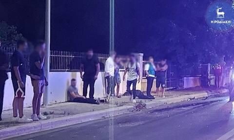 Νέα τραγωδία στη Ρόδο: Νεκρός σε τροχαίο 40χρονος μοτοσικλετιστής