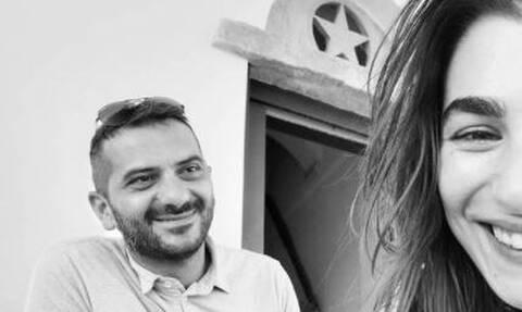 Χρύσα Μιχαλοπούλου: Η τρυφερή φωτογραφία με τον Λεωνίδα Κουτσόπουλο