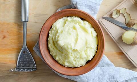 Πώς θα φτιάξετε τον τέλειο πουρέ πατάτας