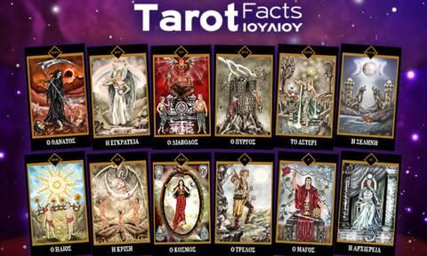 Η μηνιαία κάρτα Ταρώ που αντιστοιχεί σε κάθε ζώδιο τον Ιούλιο