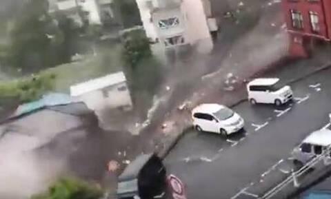 Ιαπωνία: Καταρρακτώδεις βροχές προκαλούν κατολισθήσεις, 20 αγνοούμενοι
