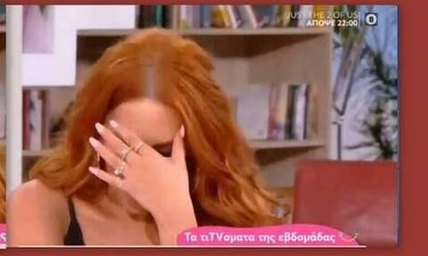 Σίσσυ Χρηστίδου: Ξέσπασε σε κλάματα - «Αχ Παναγία μου - Δεν μπορώ… Δεν υπάρχουν λόγια»