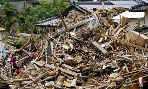 Ιαπωνία: Νεκροί και αγνοούμενοι απο τις κατολισθήσεις που προκάλεσαν οι σφοδρές βροχοπτώσεις