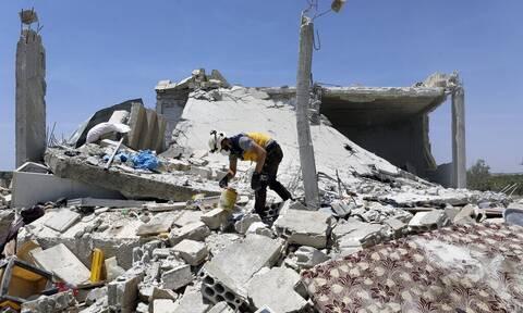 Συρία: «Λουτρό» αίματος με εννέα άμαχους νεκρούς - Ανάμεσά τους επτά παιδιά