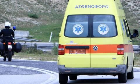 Εύβοια: Σφοδρή σύγκρουση φορτηγού με μηχανή - Τραυματίστηκε σοβαρά ο αναβάτης