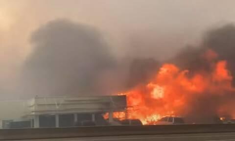 Kαναδάς: To χωριό που «σβήστηκε» από το χάρτη λόγω του καύσωνα -«Τα ζώα μου κάηκαν ζωντανά» (Vid)