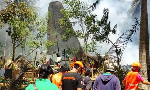 Φιλιππίνες: Τουλάχιστον 29 νεκροί απο τη συντριβή στρατιωτικού αεροσκάφους