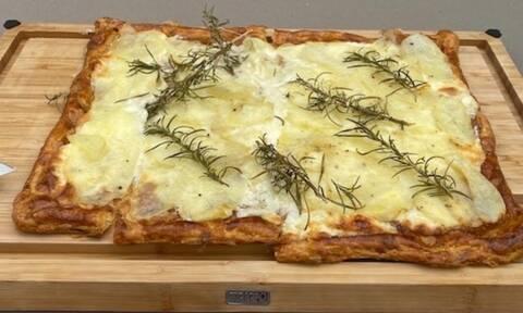 Συνταγή για την απόλυτη τάρτα με πατάτες, δεντρολίβανο και μασκαρπόνε (Γράφει η Majenco)